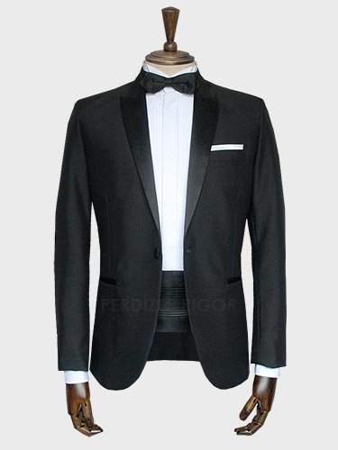 Aluguel de Smoking Black Tie Slim